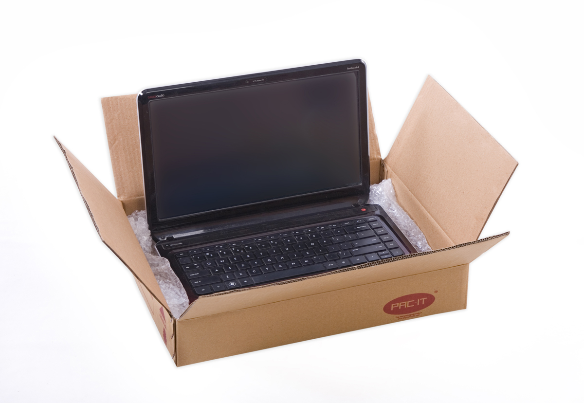 Brown Cube Box, 3Ply For Laptop