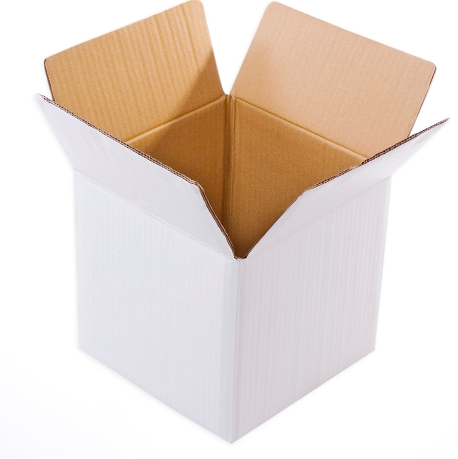 White Cube Box , 5Ply